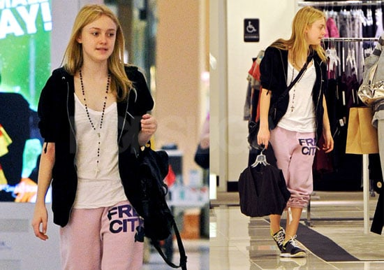 Photos of Dakota Fanning Shopping in LA
