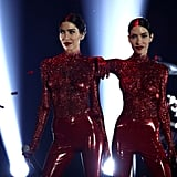 Pictures of The Veronicas at the 2016 ARIA Awards