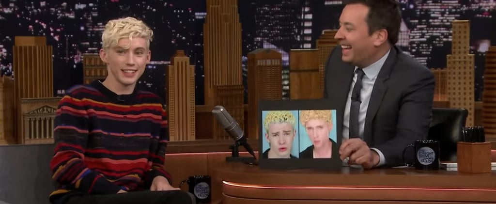 Troye Sivan Talks About Justin Timberlake to Jimmy Fallon