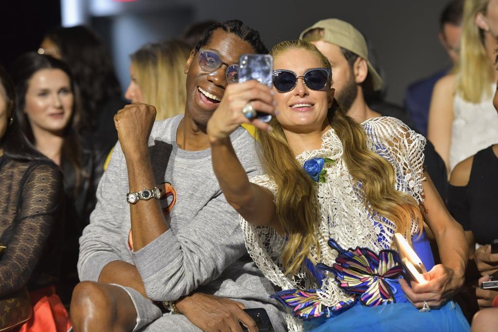 Pictured: J. Alexander and Paris Hilton