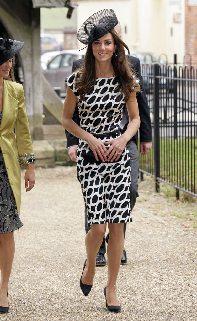 kate middletons wedding guest dresses popsugar fashion