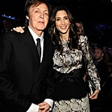 Paul McCartney poses with Nancy Shevell.