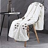 Faux Fur Sherpa Fleece Blanket