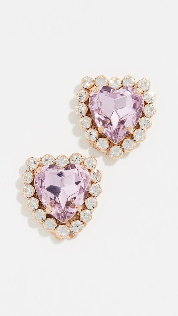Anton Heunis Heart Stud Earrings
