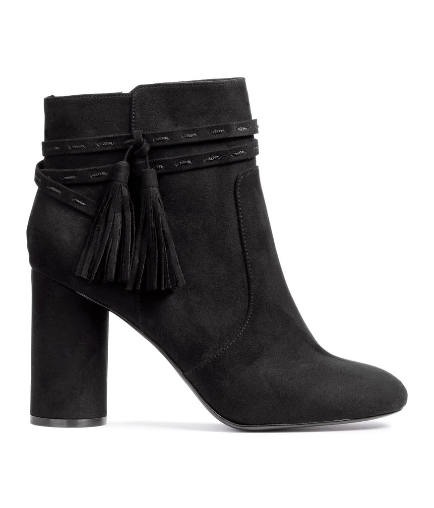 H&M Boots With Tassels ($50)