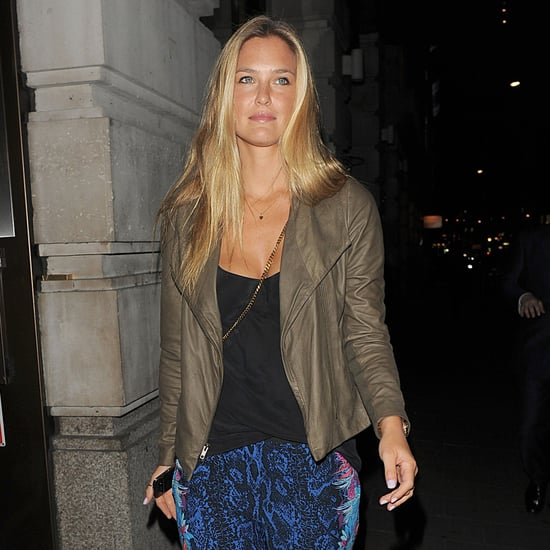 Bar Refaeli Partying in London Pictures