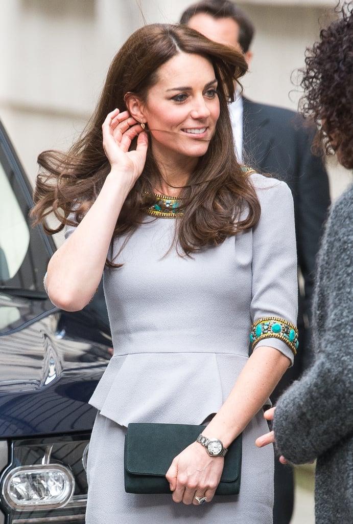 Kate Middleton at Conference in London November 2015