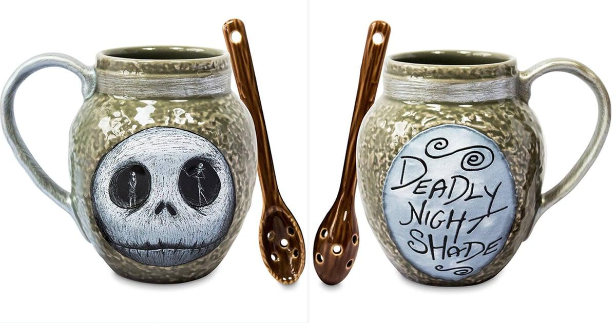 Deadly Night Shade Mug Halloween Nightmare Before Christmas Inspired Coffee Cup
