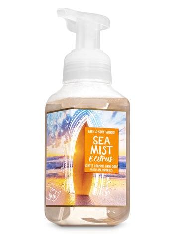 Bath & Body Works Sea Mist and Citrus Gentle Foaming Hand Soap