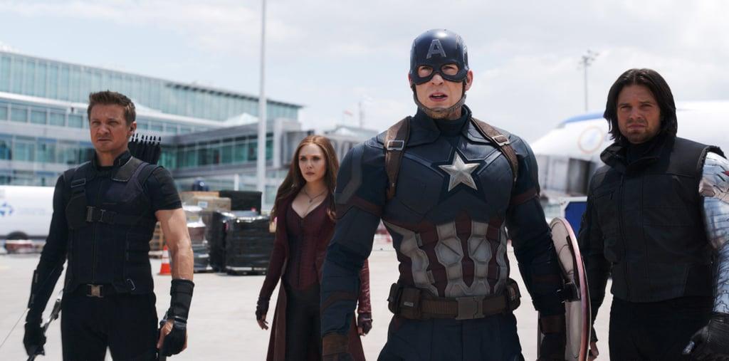 Team Cap in Captain America: Civil War