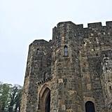 Alnwick Castle in Northumberland, England