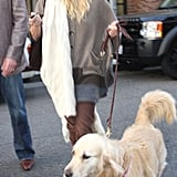 Oliver Takes Nicollette Sheridan Shopping