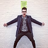 Brad Goreski broke some rules during NYFW. Source: Twitter user mrbradgoreski