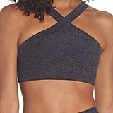 Beyond Yoga High Cut Criss-Cross Bra