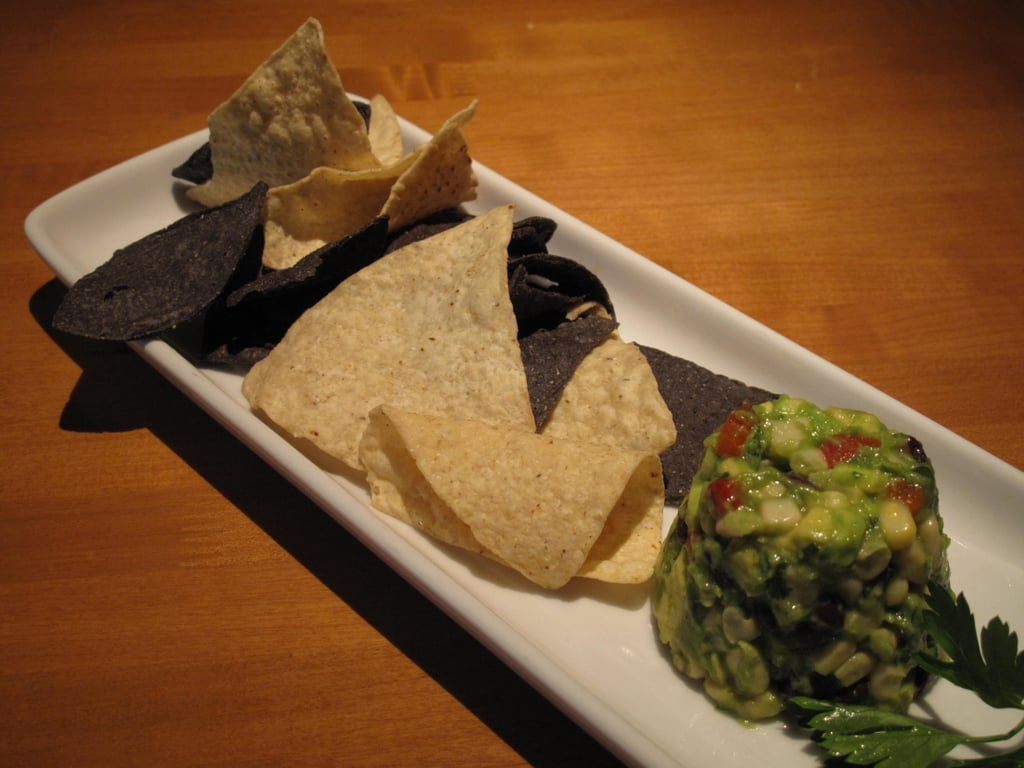 White Corn Guacamole and Chips
