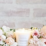 If you love Lauren Conrad's decor aesthetic, grab a candle and surround it with flowers (i.e. this would look great on a mantle).