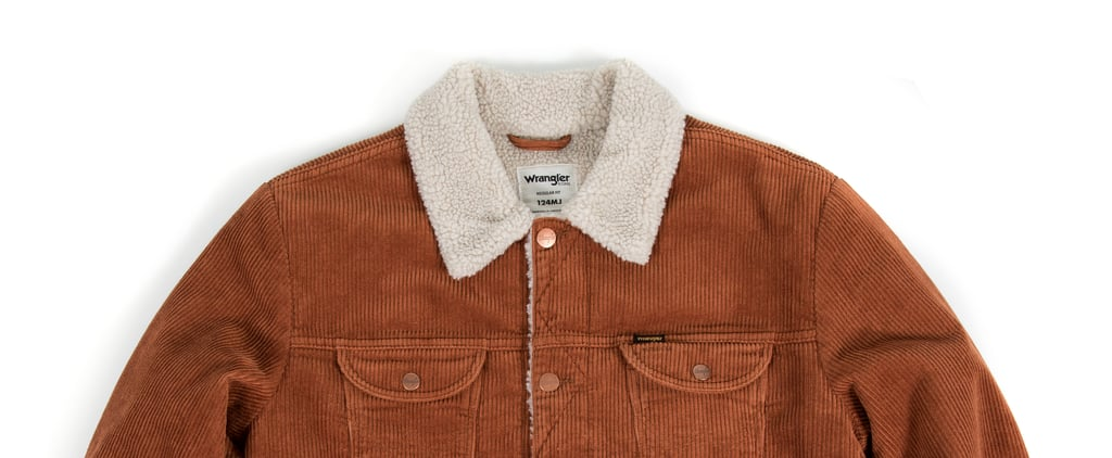 Wrangler's Sherpa Corduroy Jacket Is Unisex and Under $200