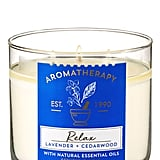 Bath and Body Works Relax Lavender Cedarwood 3-Wick Candle