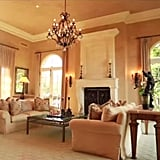 This quiet sitting room is the perfect place for Britney to relax when she's on a break from performing.