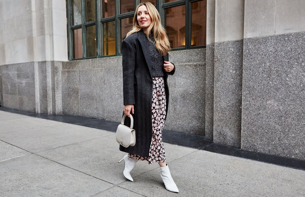 The Winter Slip-Skirt Outfit: A Menswear Twist