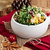 Cranberry, Kale, and Squash Salad