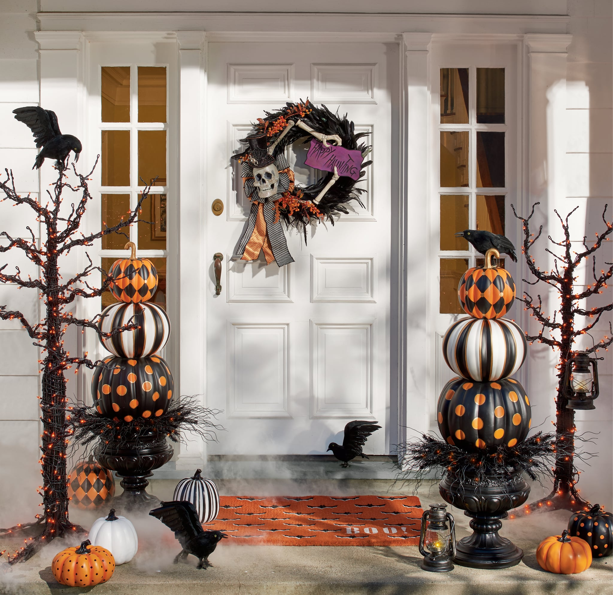 Halloween Pumpkin Topiary Best 2019 Halloween Decor At Grandin Road Popsugar Home Australia Photo 12