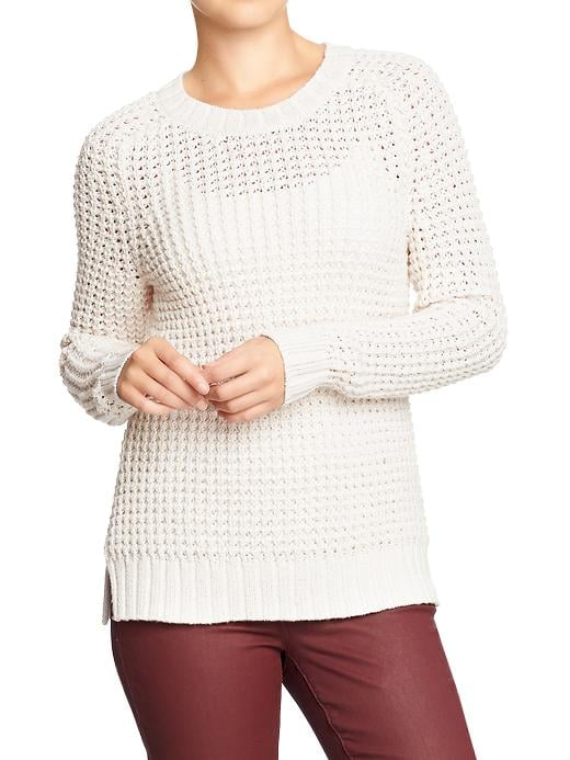 It's all about the texture on this Old Navy knit sweater ($35).