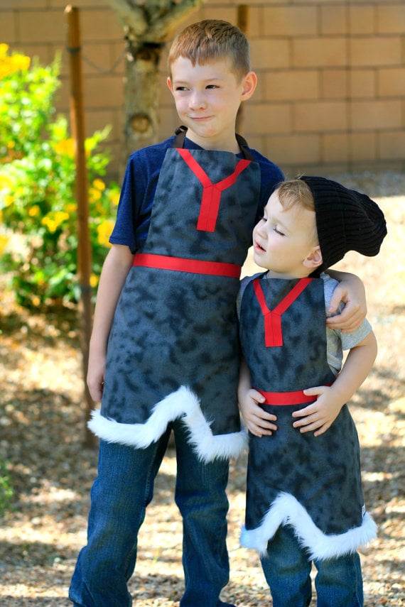 The most affordable option for your little Frozen fan's Kristoff getup is this Handmade Kristoff Costume ($28).