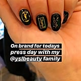 Dua Lipa's YSL Nails