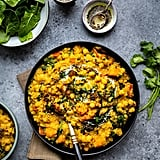 One-Pot Red Lentil, Squash, and Chickpea Dhal