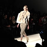 BCBG Max Azria's runway showed us the layering we want to wear now.