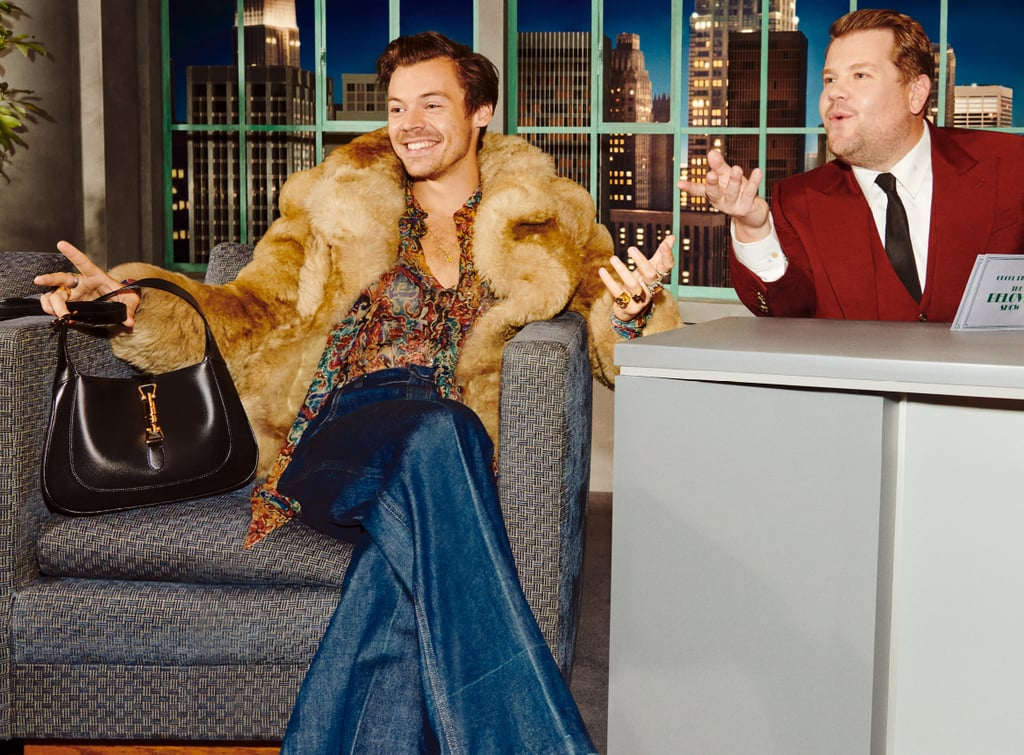 Harry Styles Stars in Gucci's Beloved Talk Show Campaign