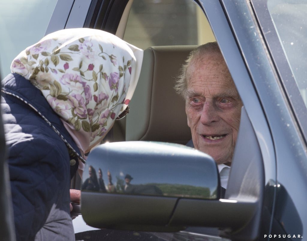 Prince Philip at Royal Windsor Horse Show May 2018