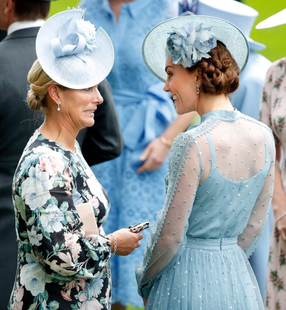 Zara Tindall and the Duchess of Cambridge | Zara Tindall ...