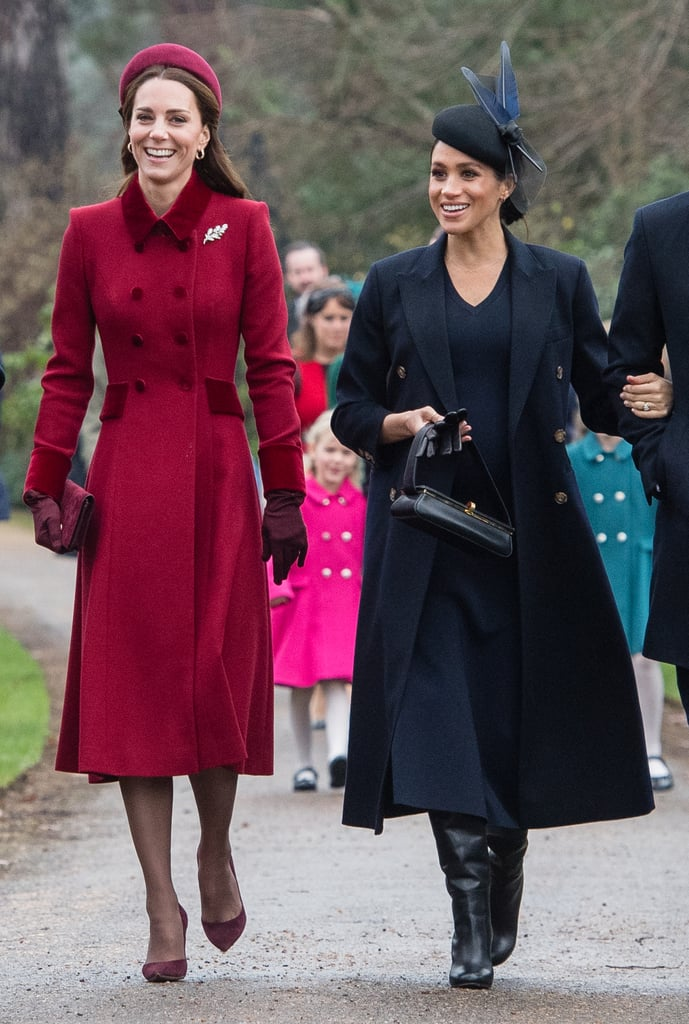 When They Were All Smiles at the Royal Christmas Day Service