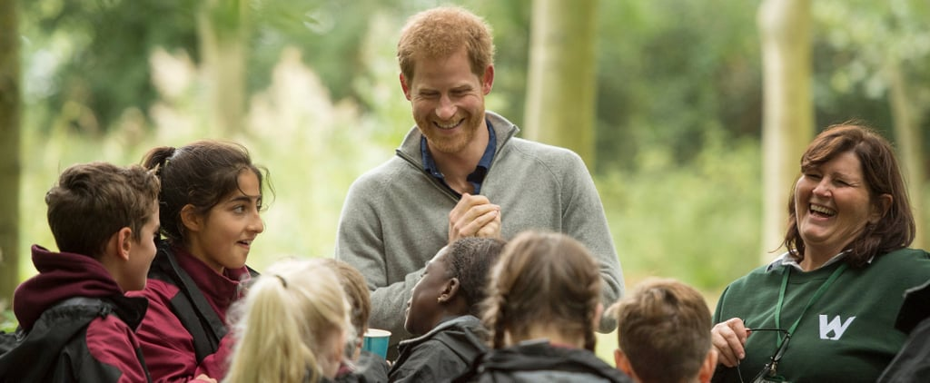 Prince Harry Spends a Day in the Wilderness With Students Amid Engagement Rumors