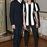 Vladimir Restoin Roitfeld and Giovanna Battaglia at ArtSpace's second anniversary dinner in New York. Source: David X Prutting/BFAnyc.com
