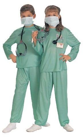 Doctor ER Child Costume