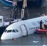 Photos of US Airways Plane Crash Into Hudson River