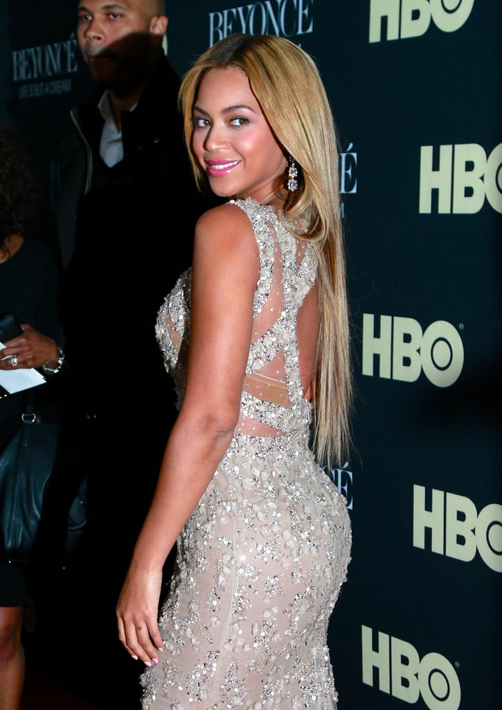 Beyoncé Goes Gold For Her HBO Premiere