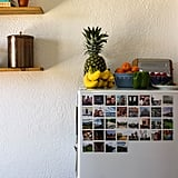 Print travel photos on fridge magnets