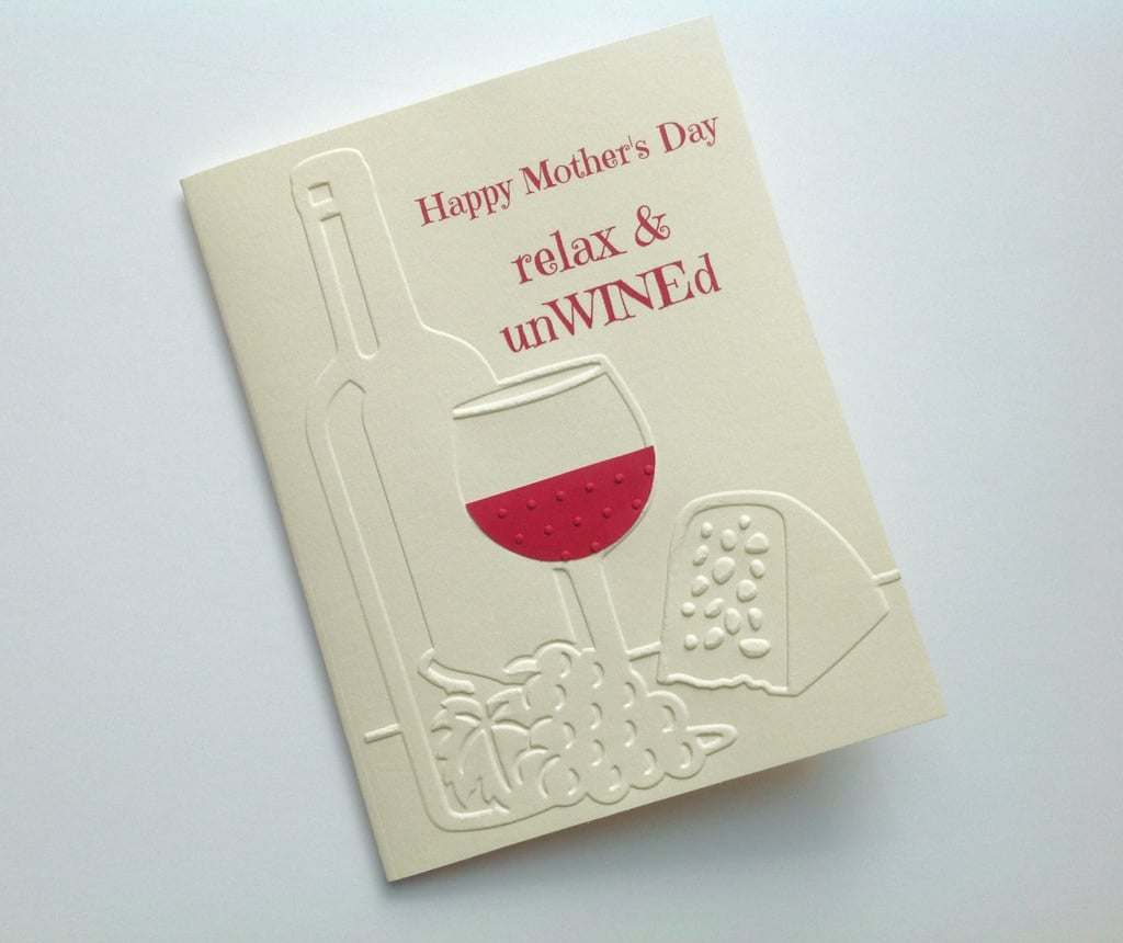 relax and unwined mother s day card happy mother s day sister