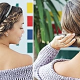 Dutch Braid Updo