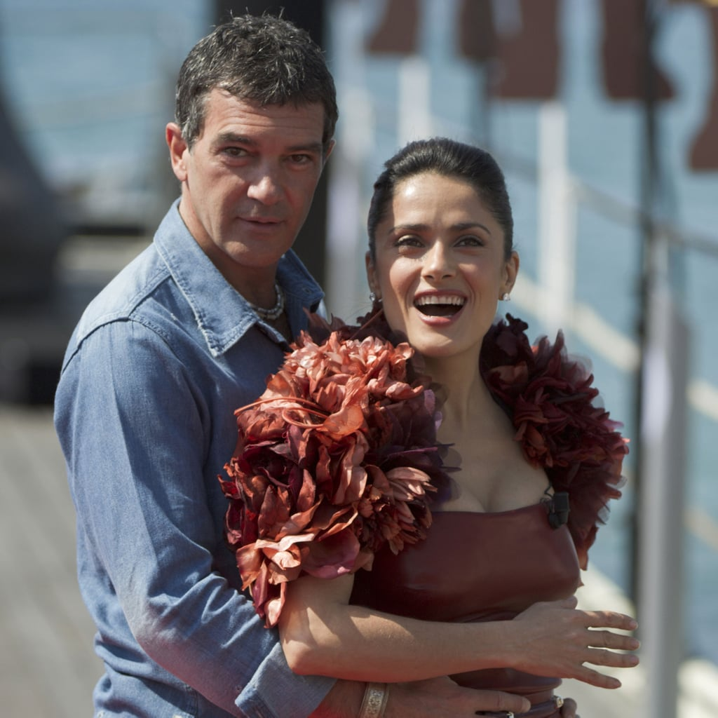 Pictures of Salma Hayek at Cannes