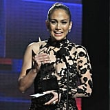 Jennifer Lopez took home an American Music Award.