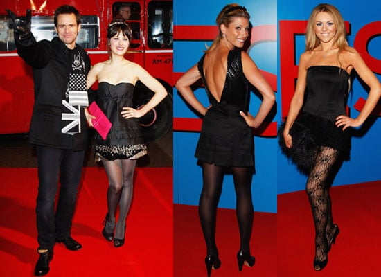 Photos of Jim Carrey and Zooey Deschanel at Yes Man UK Premiere in London