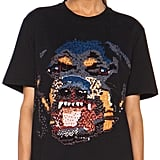 Givenchy Sequin Rottweiler Cotton Tee ($2,550)
