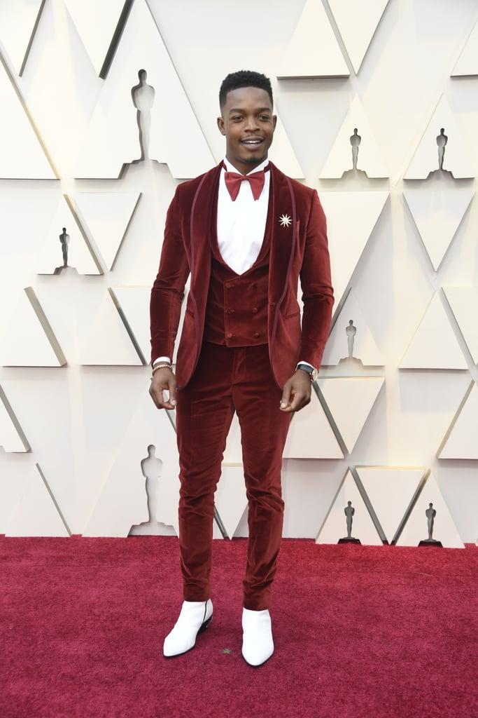 Stephan James at the 2019 Oscars