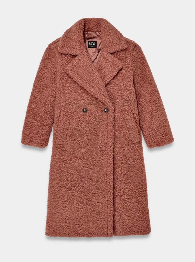UGG Gertrude Long Teddy Coat