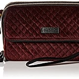 Vera Bradley Iconic Rfid All-in-One Velvet Crossbody
